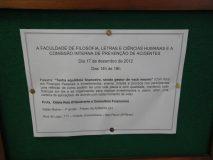 USP - Universidade de São Paulo - FFLCH - Faculdade de Filosofia, Letras e Ciências Humanas - Palestra Tenha Equilíbrio Financeiro, sendo Gestor de suas Finanças