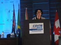 """COINS - Congresso Internacional de Secretariado - Lançamento do Livro """"Excelência no Secretariado, onde Odete Reis é coautora"""