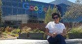 Odete Reis nas dependências do Google no Vale do Silício em set/19
