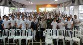 Foto: Palestra realizada com Jovens, alunos do SENAI - Mogi das Cruzes - SP